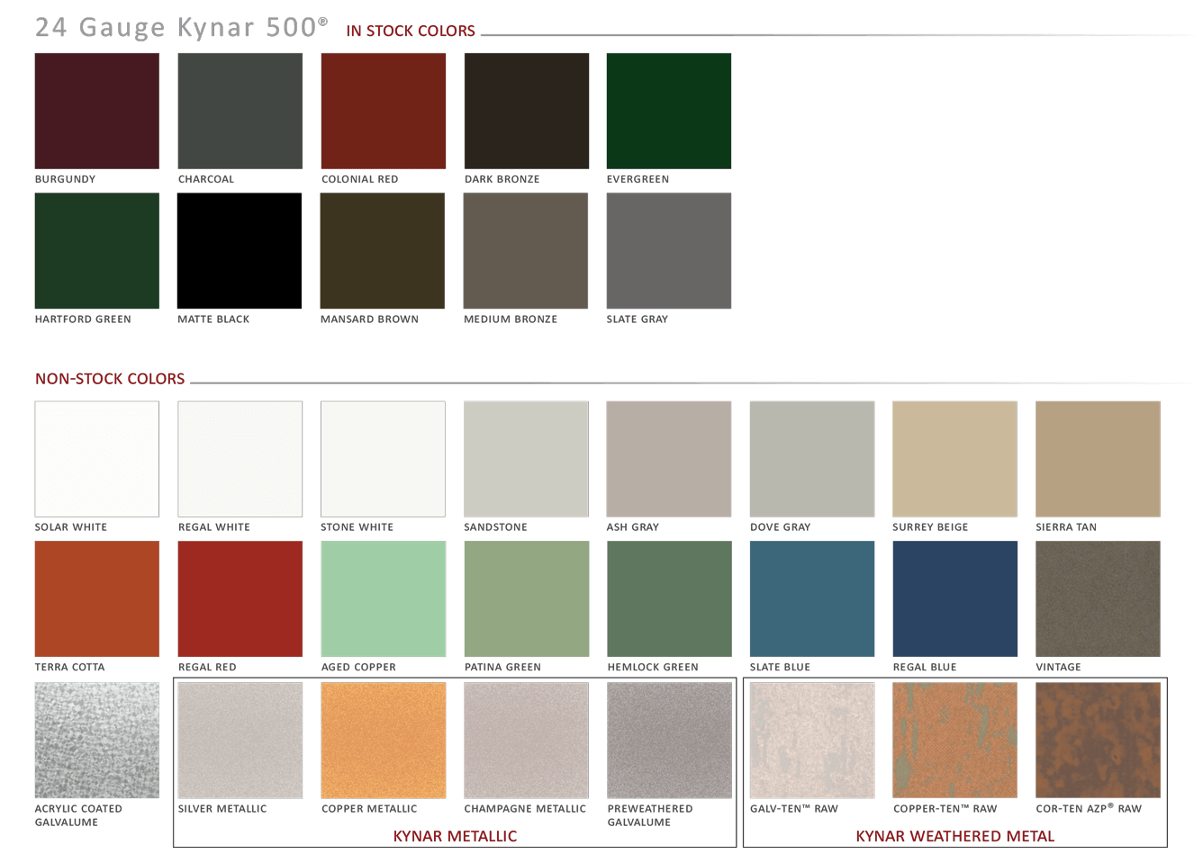 Metal Siding Colors : Standing seam metal roof details costs colors and pros
