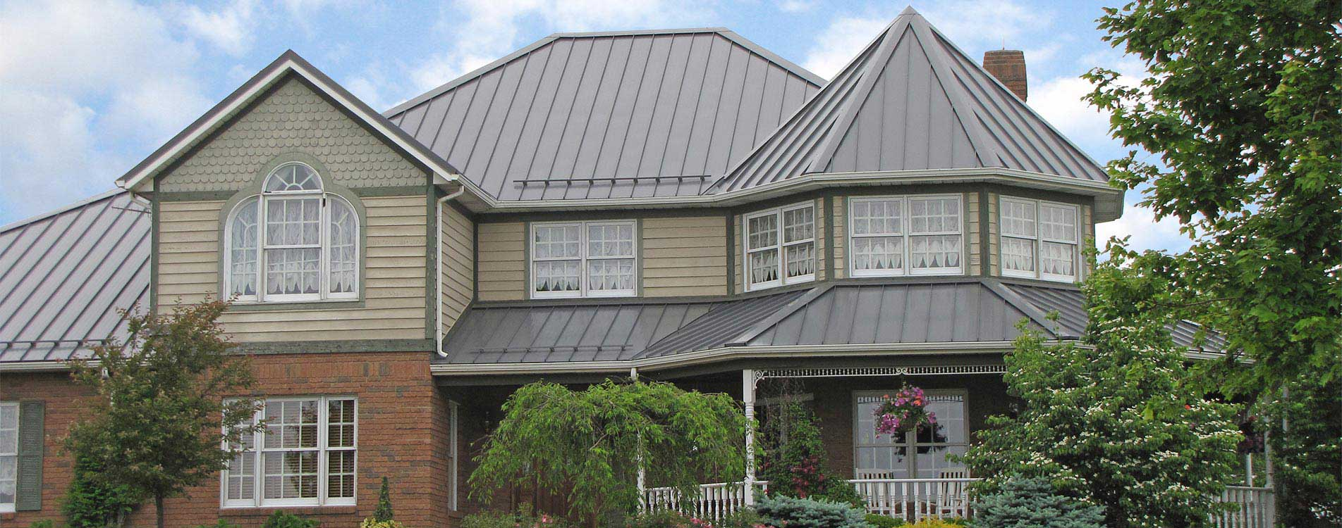Ohio metal roofing | Metal siding and metal trim for new homes
