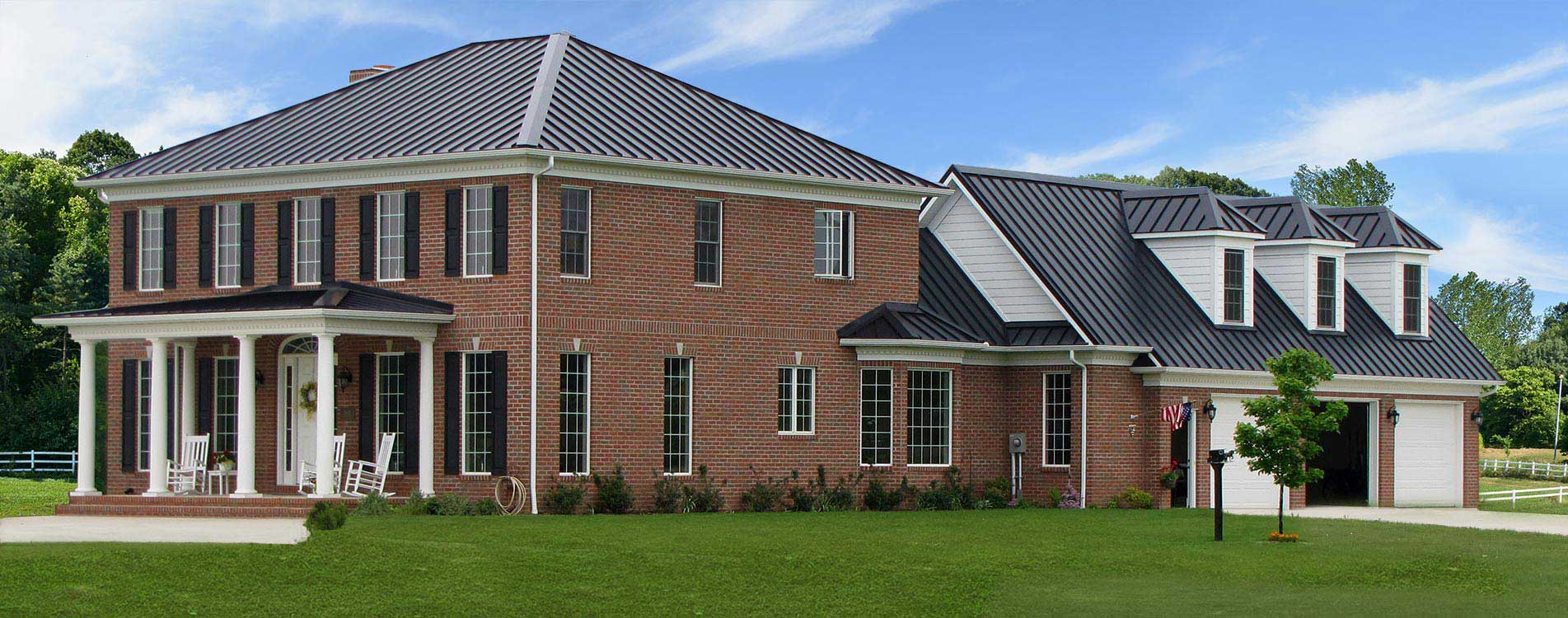Ohio Metal Roofing Metal Siding And Metal Trim For New Homes